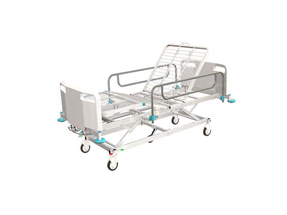 ICU Manual Bed Three Crank