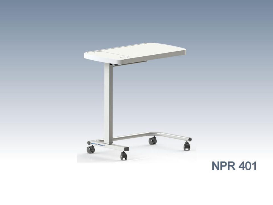 NPR 401 OVERBED TABLE, ABS
