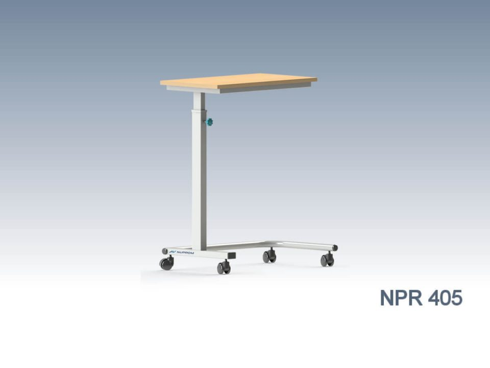 NPR 405 OVERBED TABLE, MANUAL