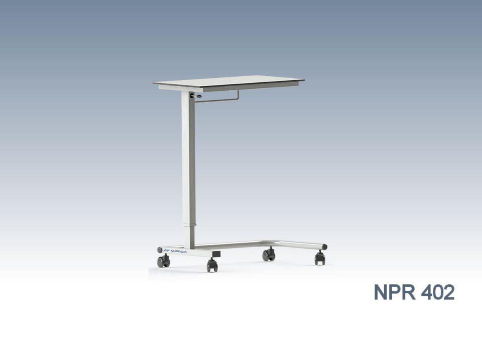 Npr 402 OVERBED TABLE, HPL